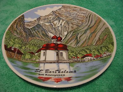 St Bartholoma Decorative Porcelain Plate