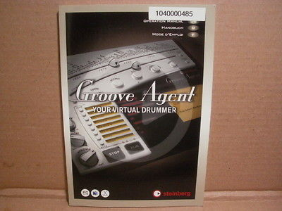 Steinberg Groove Agent Virtual Drummer -  MANUAL Only