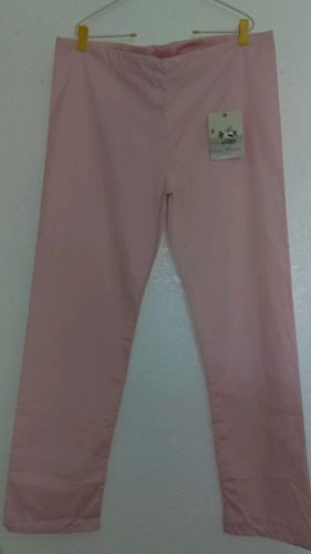 Casual Threads Co woman bottoms SCRUBS size small pink