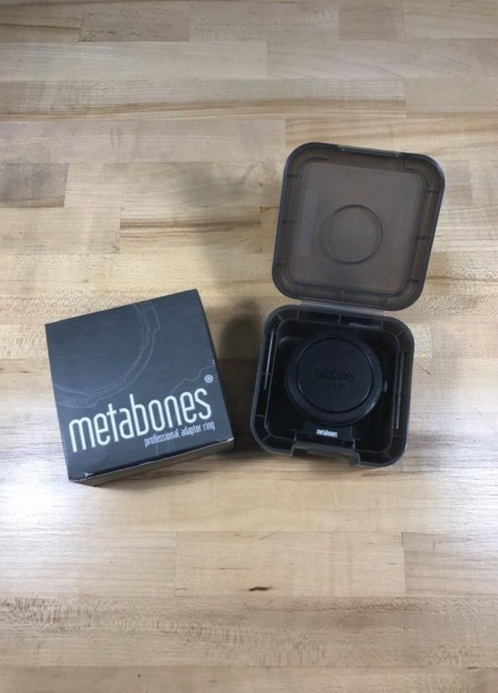 Metabones Mark IV Smart Adapter for Canon EF Lens to Sony E-Mount Camera