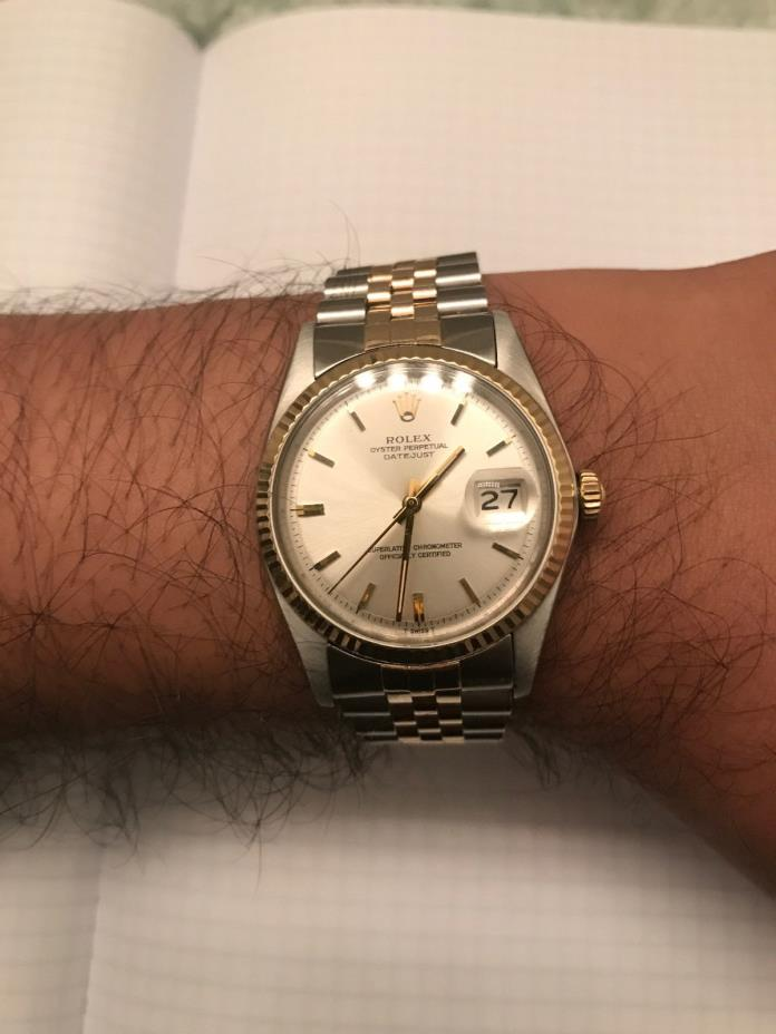 Vintage Rolex Datejust with Jubliee Bracelet - Gold/SS Two Tone