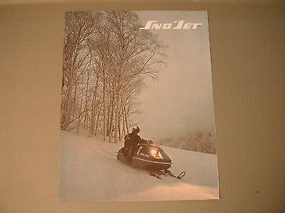 1972 Vintage Sno-Jet Snowmobile Brochure