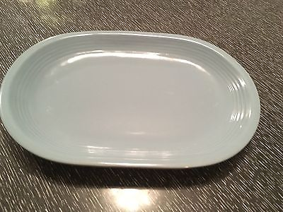 Blue Gibson Made in China Oval Platter