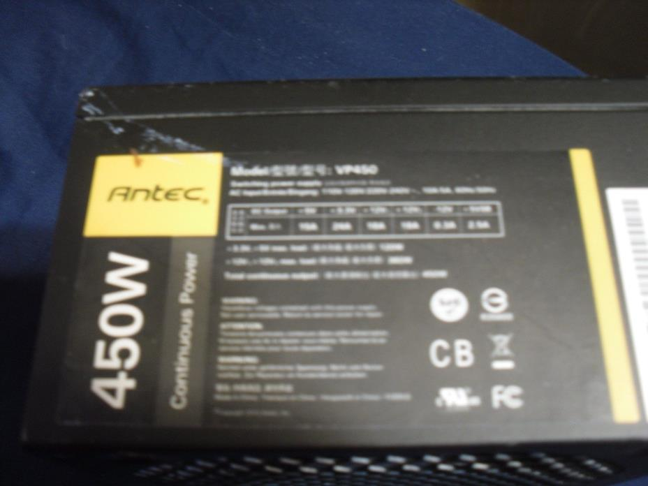 Antec VP450 Antec 450W 20+4 Pin ATX Power Supply