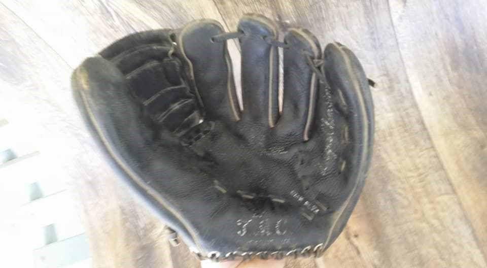Vintage TMC Baseball Glove Mitt Official League RARE OLD GLOVE