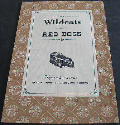 Wildcats And Red Dogs #2 In A Series - Fold Out Pamphlet - Rare Scarce