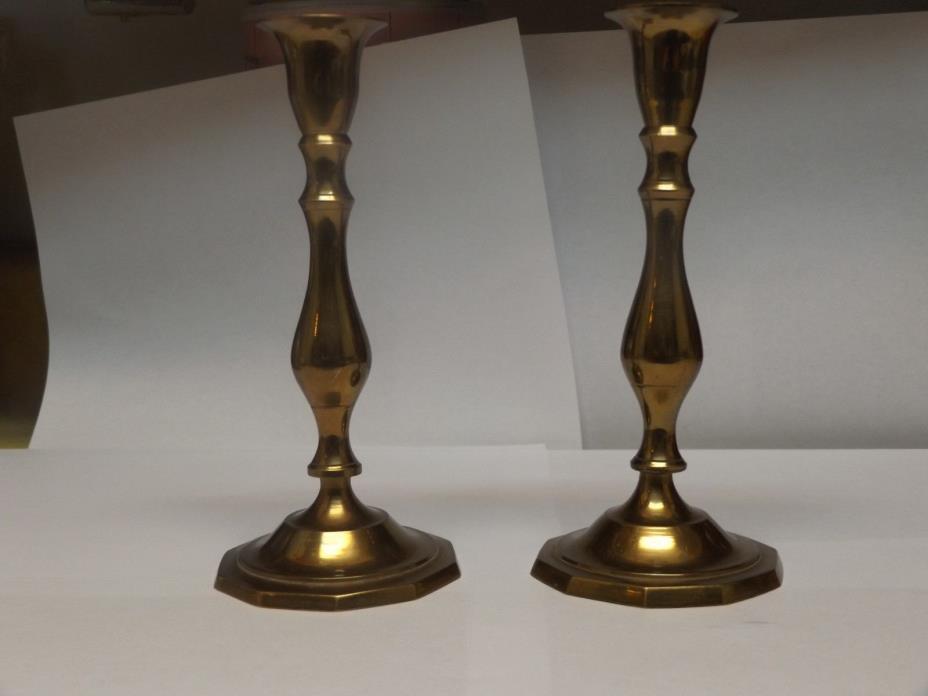 7 inch Brass  candlestick holder