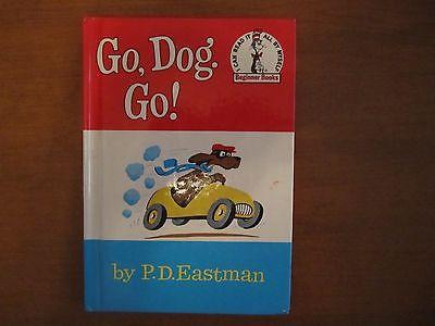 Go, Dog. Go! by P. D. Eastman (1961, Hardcover) Beginner Books- RARE - Excellent