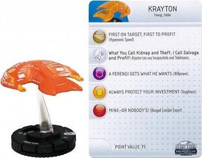 Krayton #012 Star Trek Tactics II Mint In Box Heroclix