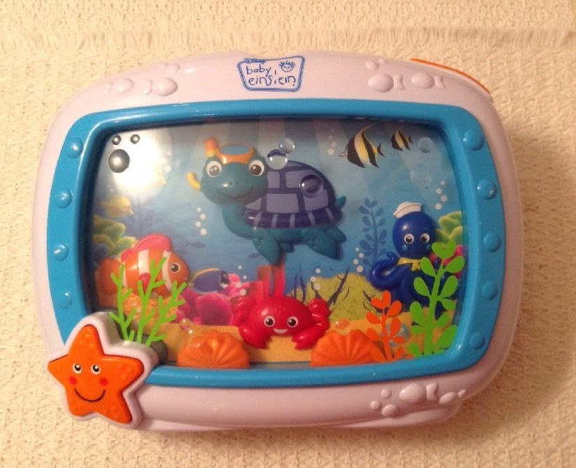 Baby Einstein Sea Dreams Soother - Features Real-Life Imagery, No Remote, 90609