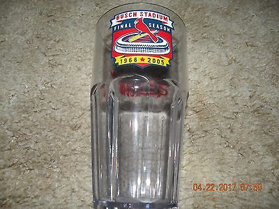Cardinals Busch Stadium Plastic Cup-Final Season