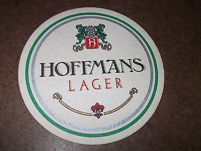 VINTAGE HOFFMANS LAGER COOL BREWED BEER MAT COASTER