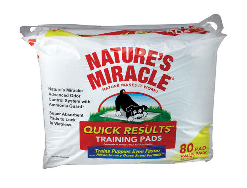 DOG TRAINING PADS 80 CT FRESH GRASS SCENT!!!