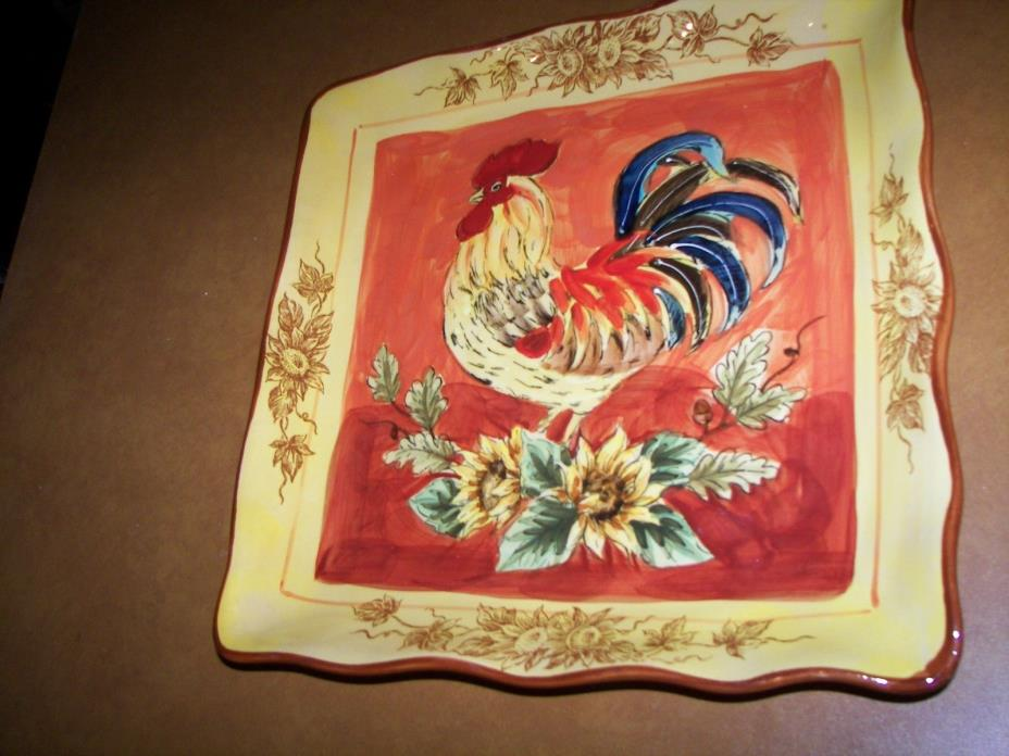 ROOSTER TRAY 11 1/2