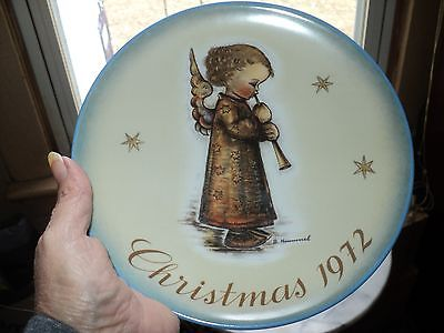 Sister Berta Hummel Christmas Plate  1972