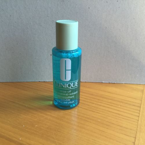 Clinique Rinse-Off Eye Makeup Remover Solvent 2oz/60mL Travel Sz