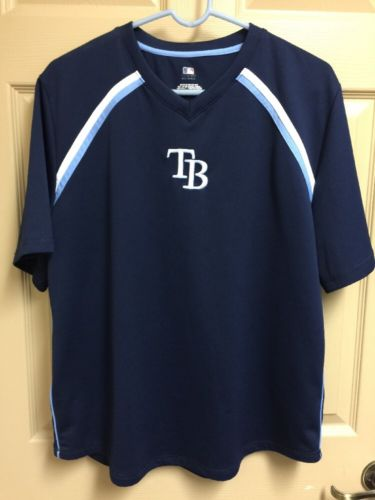Tampa Bay Rays Athletic Top Large