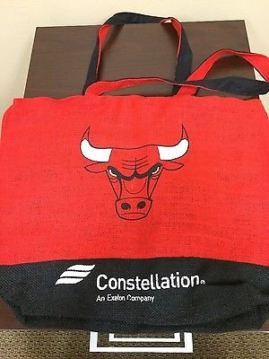 Chicago Bulls Bag 50th Anniversary SGA STH Gift