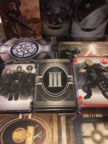 Star Wars Imperial Assault Core Replacement Cards