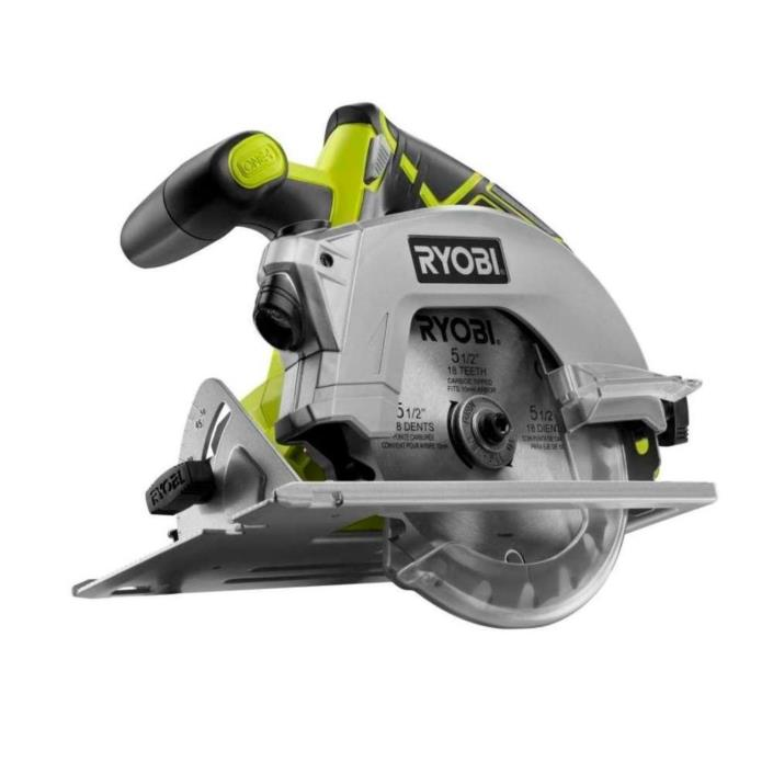 Ryobi One Plus Cordless Circular Saw with Laser 18 Volt Lithium Ion New