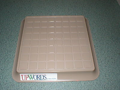 UPWORDS Board Only 1988 Milton Bradley 10 3/4