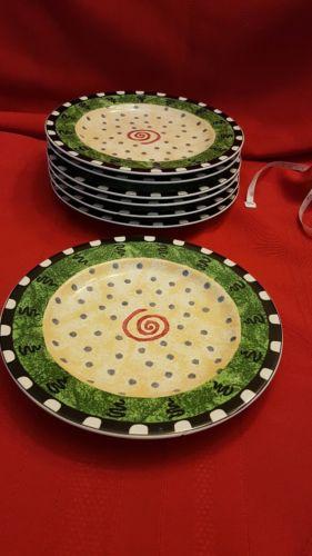 Furio Home Confetti salad plate 7 @  8 1/4