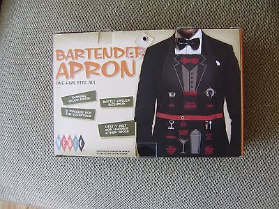 Bartender Apron One Size Fits All in Box