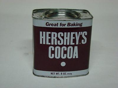 Vintage Hershey's Cocoa Metal Tin Can