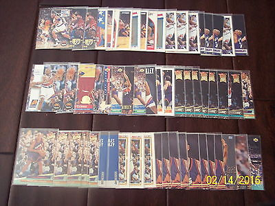 1991 1992 1993 Charles Barkley lot of 60+ cards UPPER DECK NBA Hoops SKY BOX +