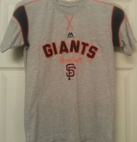 Majestic San Francisco Giants Boys Tee (Size 10-12)