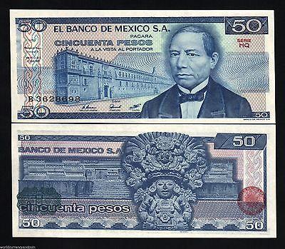 50 PESO MEXICO PAPER MONEY
