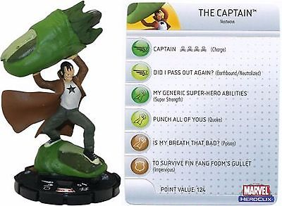 Marvel HeroClix The Captain #054 **Giant Size X-Men** SUPER RARE!
