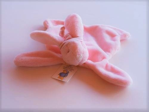 Baby Girls Bunny Stuffed Toy -Soft Bunny Lovey Cozie - Stuffed Animal