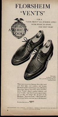 1959 COOL FRONT VENTS FLORSHEIM SHOES AD