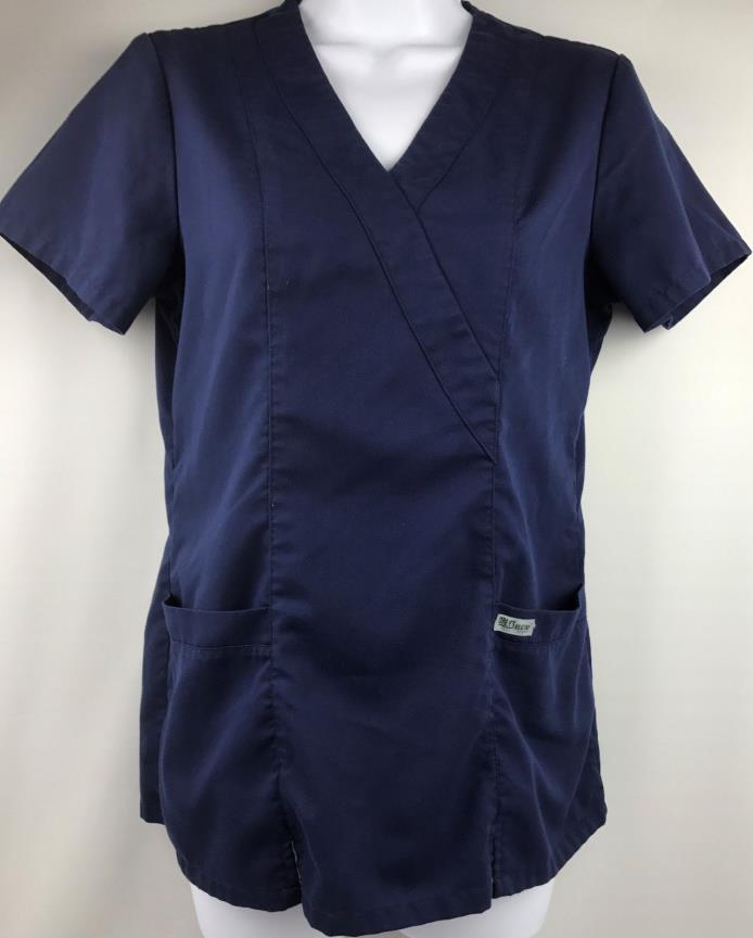 Greys Anatomy Medical Scrub Blue Top Size XS