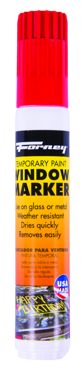 WINDOW MARKER RED 20ML