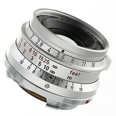 Leica Summicron 35mm F2 Lens 8-Element M2 Version 12/2016 CLA Mint Condition