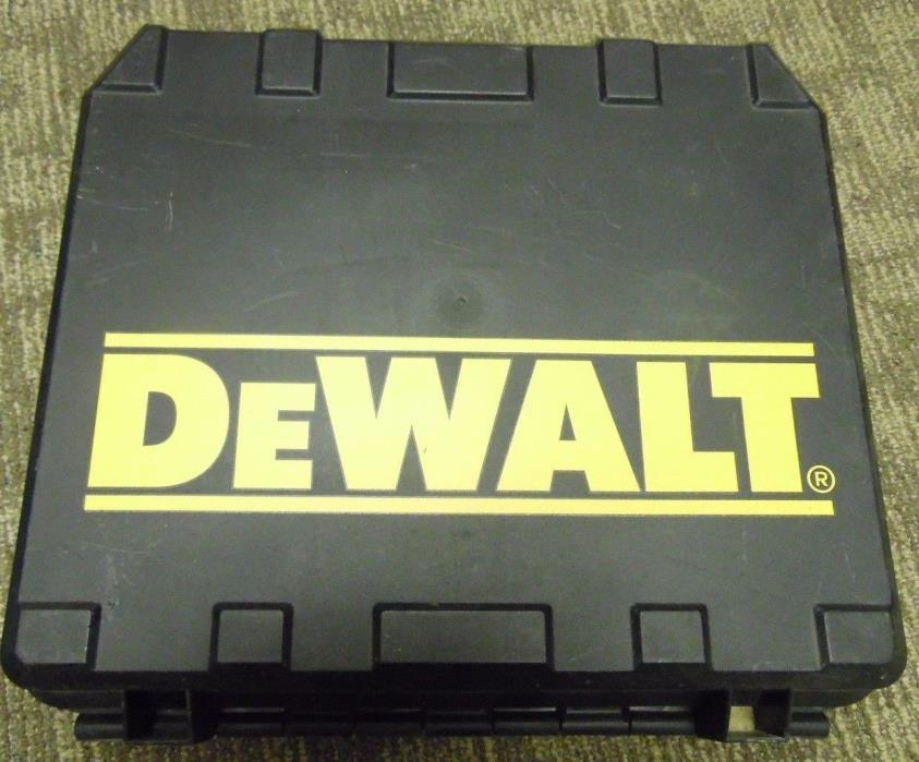 CASE ONLY * Dewalt 12 Volt Cordless Drill Kit DW991K-2 Tool * CASE ONLY