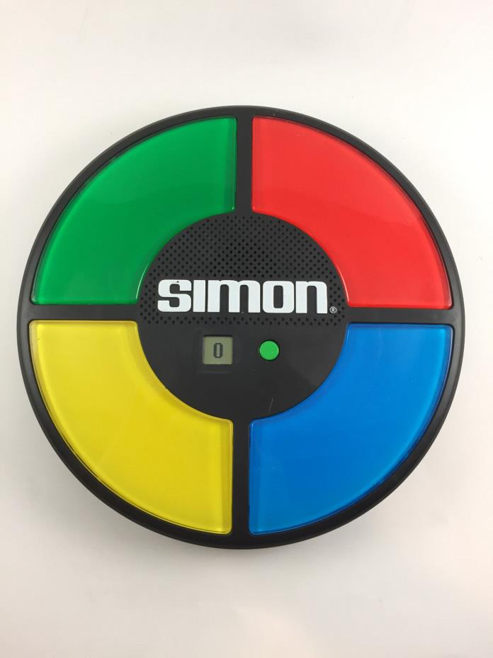 Simon Says Electronic Game With Touch Technology By Hasbro