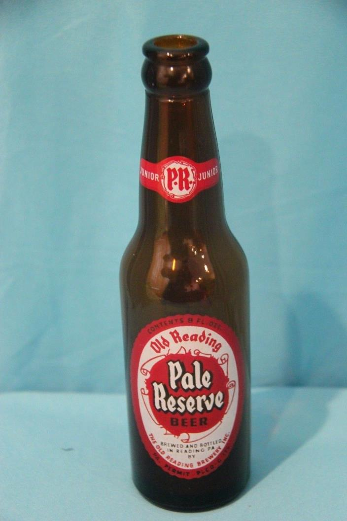 Old Reading Pale Reserve Junior Beer Bottle