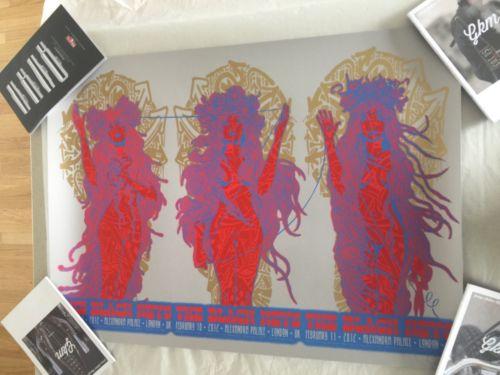 Black Keys Print / Poster Chuck Sperry London 2012
