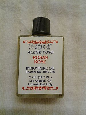 ROSE OIL, PURE, 1/2 OUNCE, INDIO BRAND