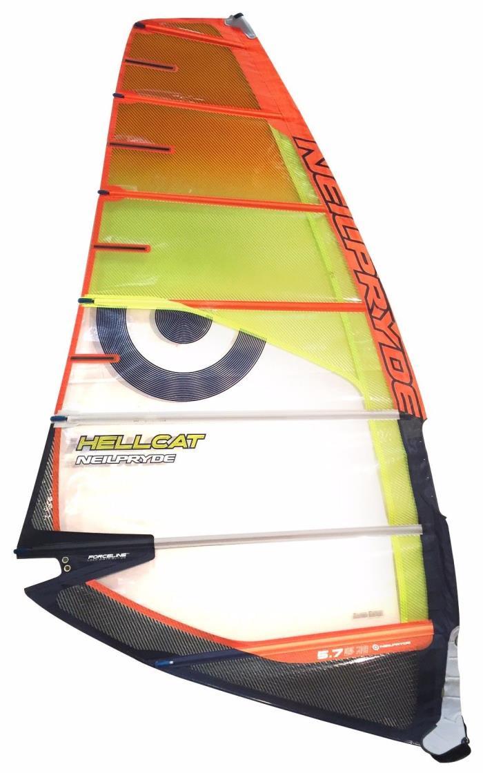 NEILPRYDE HELLCAT 5.7 Windsurf Sail Grade A -8797