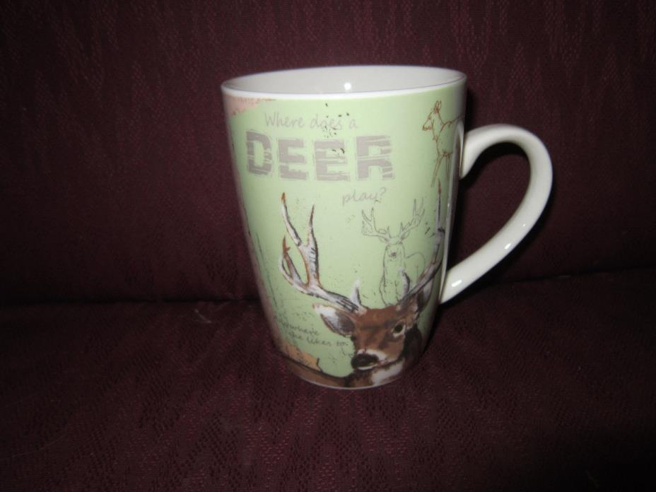 Canterbury Potteries Mountain Wildlife Deer Mug