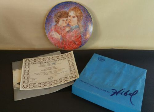 KNOWLES the Mothers Day plate by Hibel1985