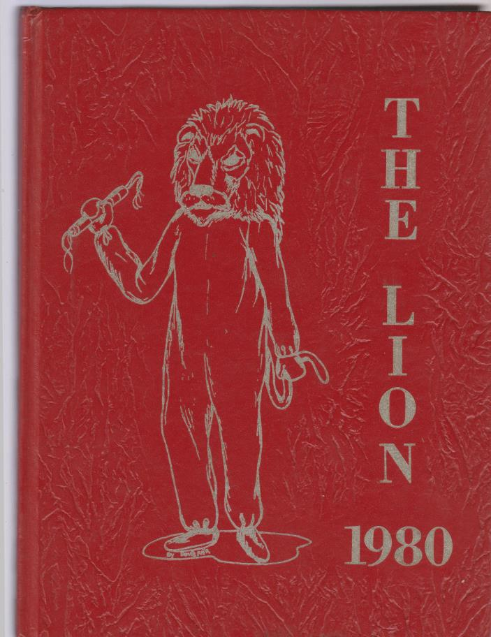 1980 Greenville Texas High school Vol 43 The Lion 300 Pages
