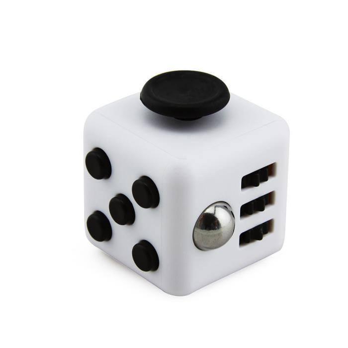 Magic White Fidget focus toy Cube *Stress *anxiety relief *ADHD *Autism therapy.