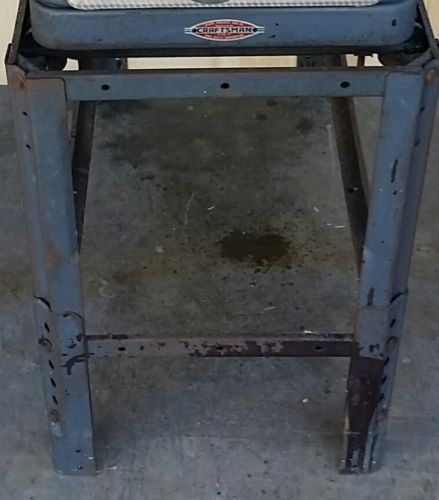 Vintage Craftsman Table Saw 103.22161 & Stand