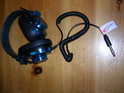 Califone 2924AVPS-BL Deluxe Stereo Headset, Blueberry