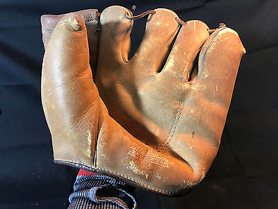 Old Vtg Geo A Reach Co Philadelphia PA Right-Handed Youth Baseball Glove Mitt